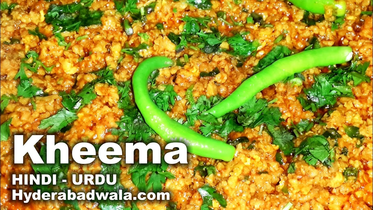 Hyderabadi kheema recipe video in hindi urdu easy simple hyderabadi kheema recipe video in hindi urdu easy simple hyderabadi food youtube forumfinder
