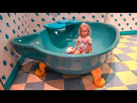 Hello Kitty Indoor Playground for kids, House of Kitty Video for kids