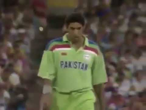Wasim Akram's Best Over in 1992 World Cup Final thumbnail