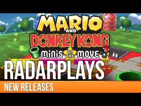 Mario and Donkey Kong: Minis on the Move - RadarPlays