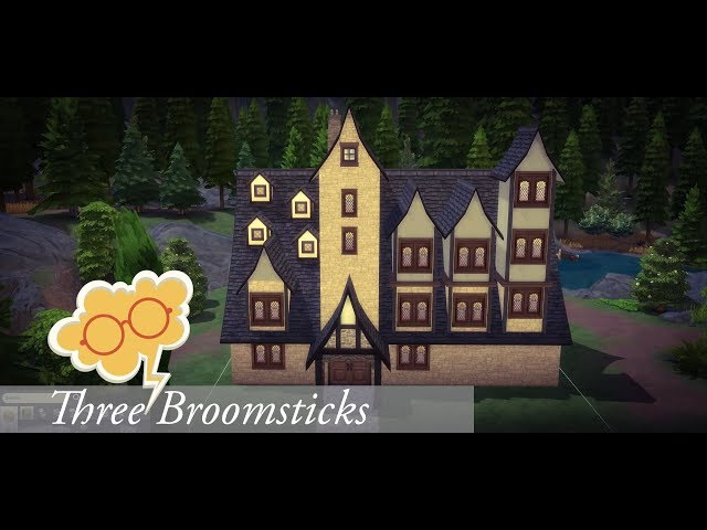 ✨Three Broomsticks | Harry Potter⚡️ | The Sims 4 - House Building