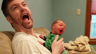 Что происходит, когда ребенок играет с папочкой №14 - МЫ СМЕЕМСЯ