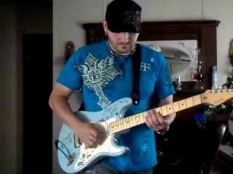 family man lead on electric guitar rocky johnson