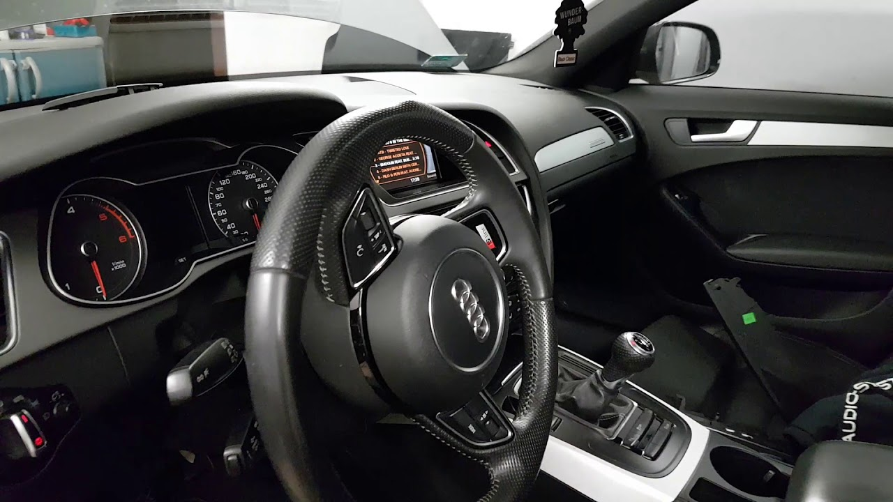 audi a4 b8 2013 audio system hx165sq evo youtube. Black Bedroom Furniture Sets. Home Design Ideas