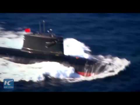 Rare footage of China's nuclear powered submarines released