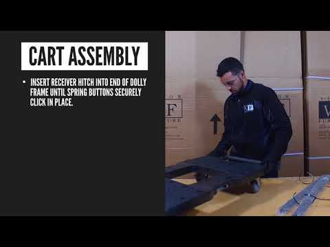 Folding Chair Cart - How to Assemble