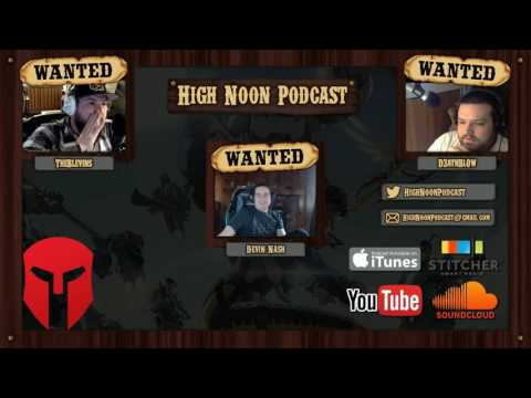 High Noon Podcast ep  53.5 Interview with Devin Nash of CLG