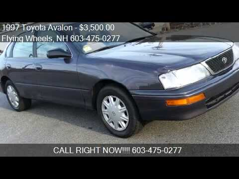 1997 Toyota Avalon For In Hampstead Nh 03841 At The Fl Flying Wheels