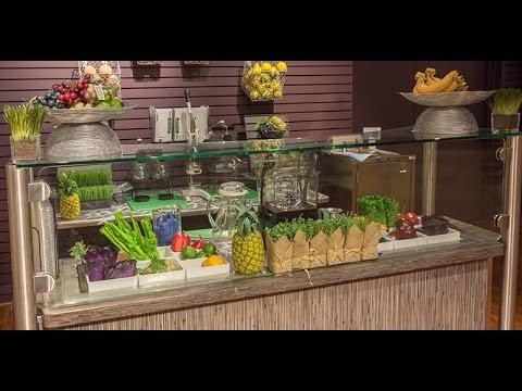 juice bar visual merchandising