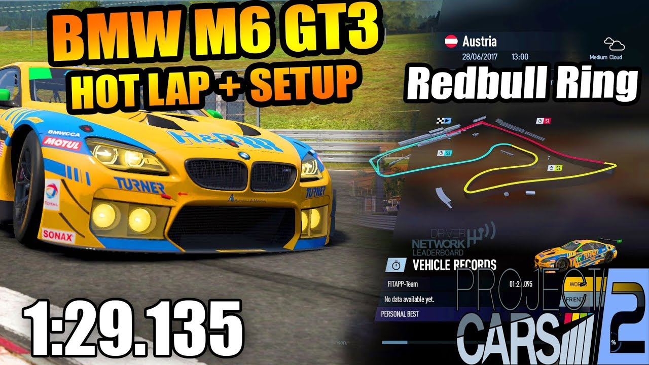 project cars 2 bmw m6 hot lap setup red bull ring 1 youtube. Black Bedroom Furniture Sets. Home Design Ideas