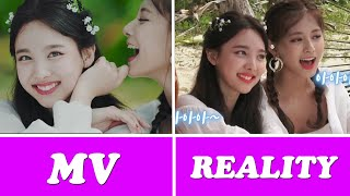 TWICE -트와이스  ✪Dance The Night Away✪ [M/V VS Reality] E.sub