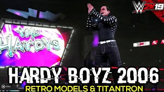 WWE 2K19 Hardy Boyz 2006 Entrance, Tag Team Moves, Signature, Finisher & Victory Motion | PC Mods