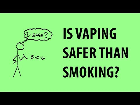 Teens and Vaping It Might Not Be as Safe because they Think