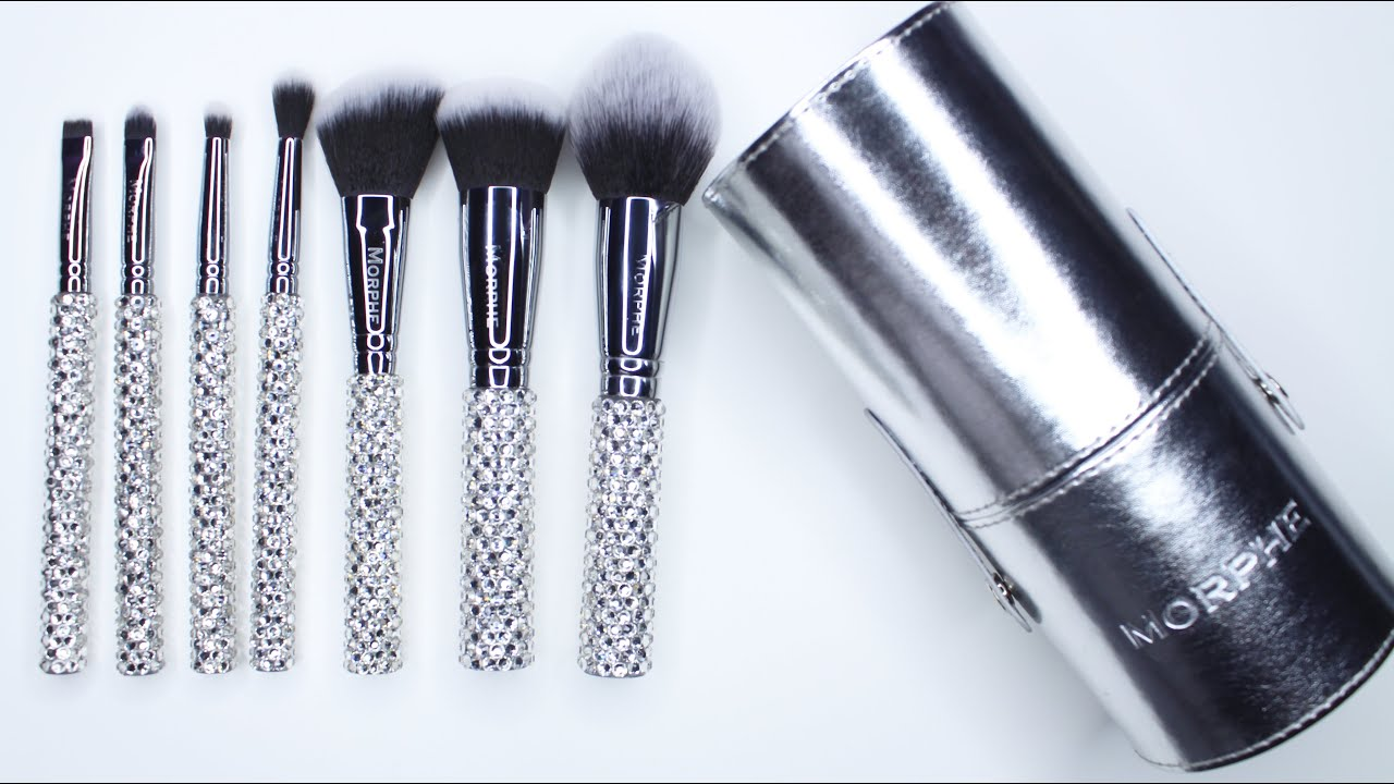 Limited Edition Morphe Brushes That Bling Brush Set Youtube Professional makeup brush sets to help you buff, blend, and everything in between. limited edition morphe brushes that bling brush set