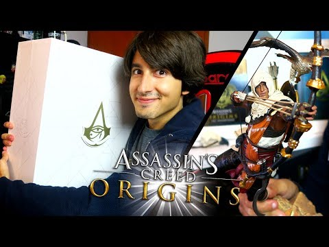 ODDIO! ASSASSIN's CREED ORIGINS in ANTEPRIMA! Dawn of The Creed Edition Unboxing ITA By Gioseph