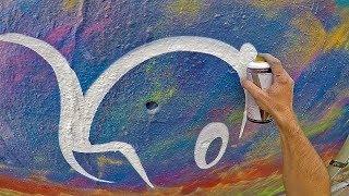 Graffiti - Rake43 - Multicolored Wall