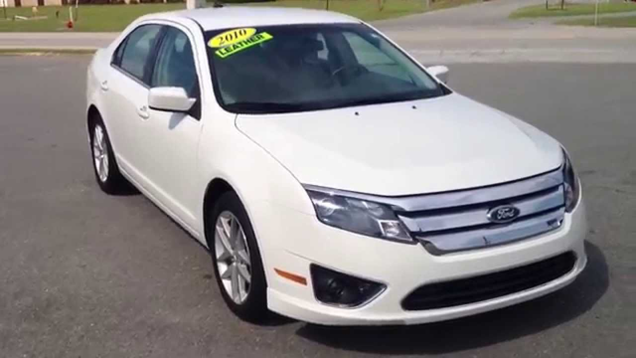 ▻ 2010 ford fusion sel white suede cpo youtube