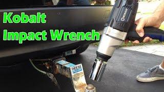 Kobalt Impact Wrench --- Work Smart, Not Hard