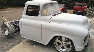 1955 Chevrolet 3100 Stepside Pickup Truck Build Project