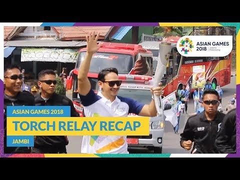 Asian Games 2018 - Torch Relay Recap (Jambi)