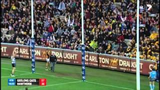 Round 15 AFL - Geelong v Hawthorn Highlights
