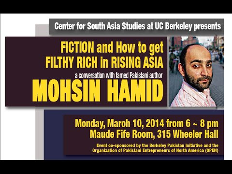 Fiction and How to Get Filthy Rich in Rising Asia: In conversation Mohsin Hamid
