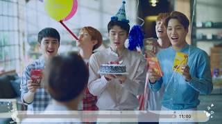 EXO-K의 빼빼로 11초 나눔법 #수호생일 #축하마음나누기
