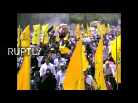 LIVE: Al-Quds Day rally takes place in Tehran