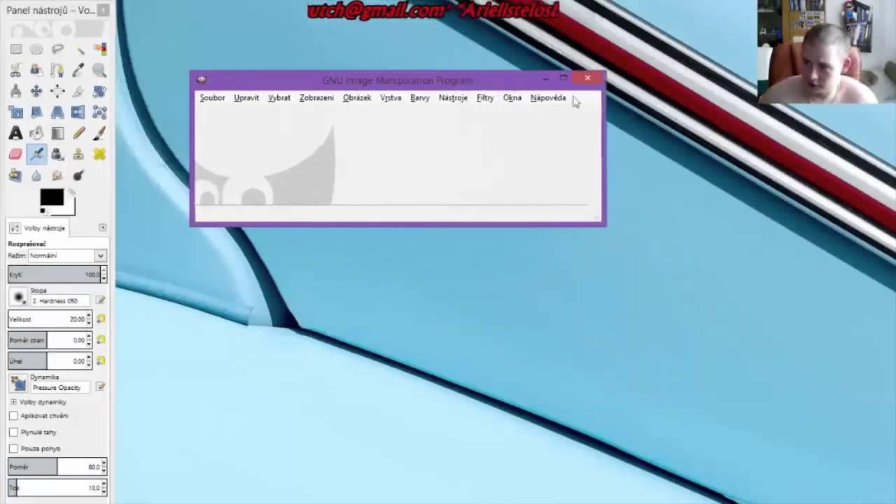 Tutorial Kresleni Cast 52 Instalace Gimpu Youtube