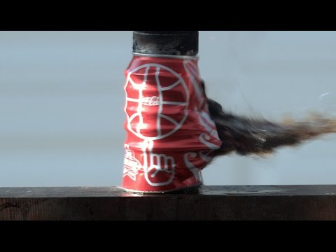 Download Youtube: Coca Cola Crushed at 2000 fps in 4K Slow Motion