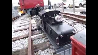 北勢線テキ60型電気機関車とモニ226の編成 前面展望です。