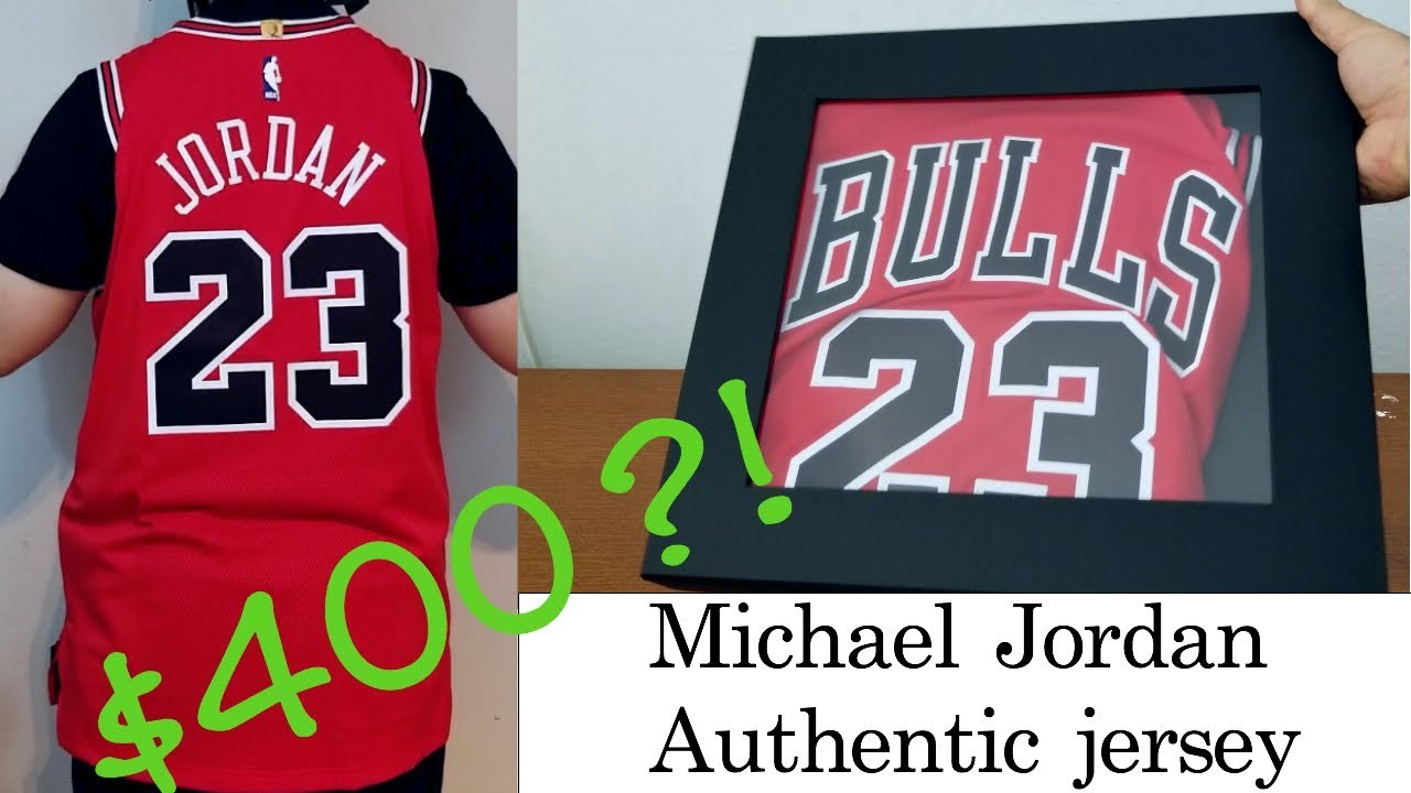uk availability 952c5 867b5 Crazy Expensive! Nike Chicago Bulls Authentic Michael Jordan Jersey