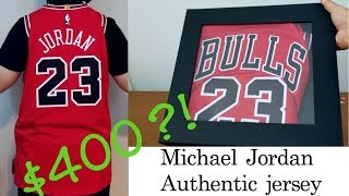 Crazy Expensive! Nike Chicago Bulls Authentic Michael Jordan Jersey