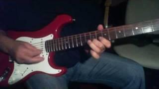 Mere Mahboob Qayamat Hogi  On Electric Guitar