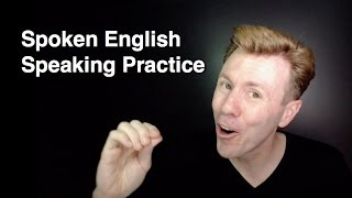 Basic English Speaking Practice Conversational Spoken