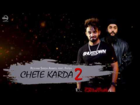 Motion Poster | Chete Karda 2 | Resham Anmol | Desi Crew | Full Song Coming Soon | Speed Records
