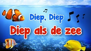 Diep diep diep als de zee 🎵 Opwekking kids 68 🎵 Leuke opwekkingsliederen
