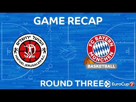 Highlights: Hapoel Bank Yahav Jerusalem - FC Bayern Munich