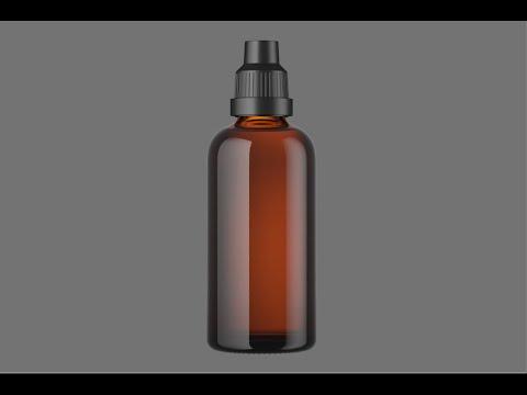 Строю модель стеклянной бутылки. Моделирование в Solidworks, рендер в Cinema 4D