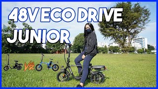 48V Eco Drive Junior $1150 VS 48V Orca Ebike $1599 | CHEAP VS EXPENSIVE | Review By GrabFood Rider