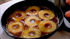 How to Make Pineapple Upside Down Cake in a Cast Iron Pan