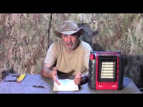 Mr Heater Portable Buddy TT Review.