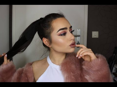 Anti Valentines Day Makeup Tutorial Pink Copper Gold Spotlight
