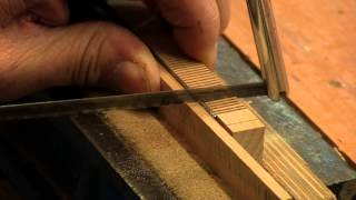 Recutting and Resizing Saw Teeth - with Paul Sellers