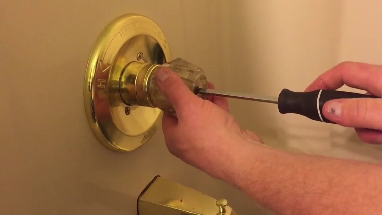 How To Adjust The Scald Guard On A Delta Faucet Youtube