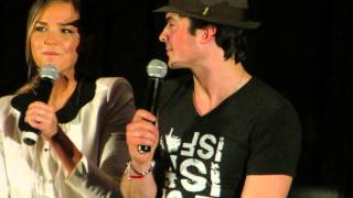 Ian Somerhalder, Paul Wesley & Arielle Kebbel-TVDOrlando Con 2013 (5)