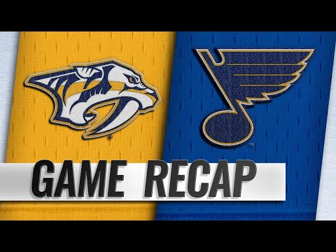 Blues beat Predators for fifth straight win