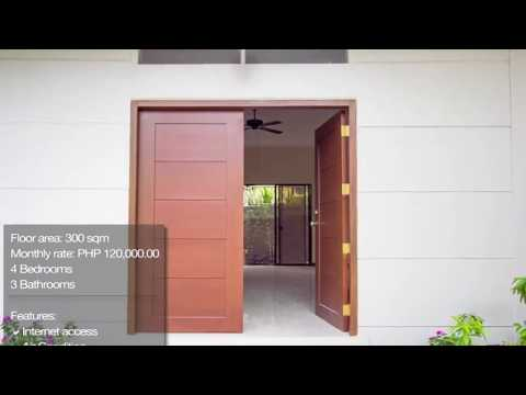 House and Lot for Rent in Bel-Air Village