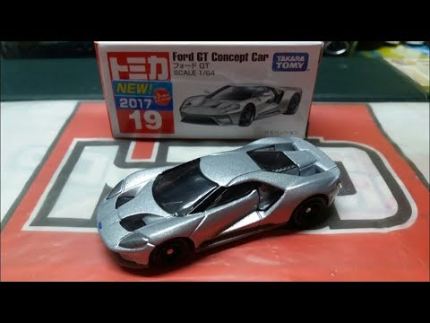 E C  E  B September Newtomica Unboxing No  Ford Gt Concept Car