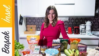 150 TL'ye 10 Günlük Diyet Alışverişimi Yaptım! | Beslenme - Diyet - Tarifler